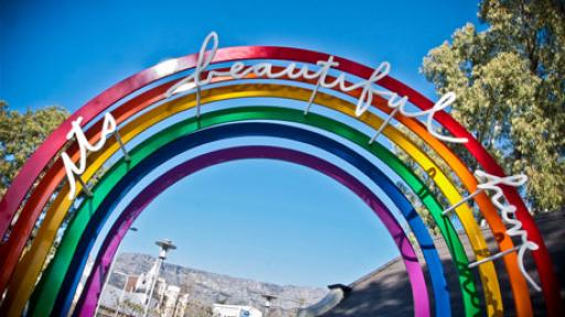 It's beautiful here by Heath Nash. Photo: Anthea Davison, Cape Craft & Design Institute.