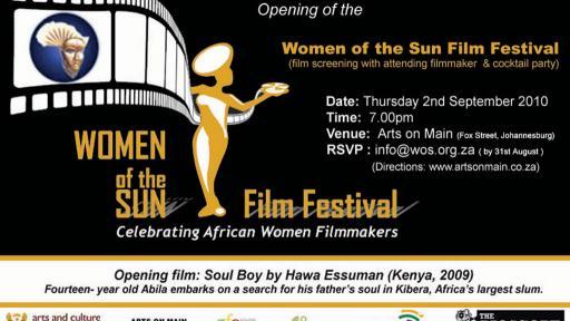 Women of the Sun Film Festival invitation.