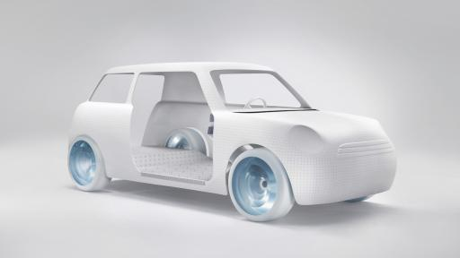 Scholten & Baijings redesign a MINI for Dutch Design Week 2012