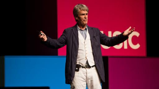 Sir John Hegarty at Design Indaba Conference 2013.