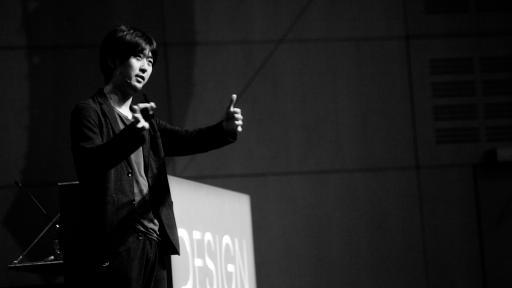Masashi Kawamura at Design Indaba Conference 2013.