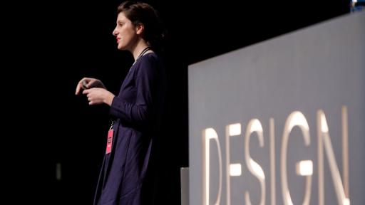 Marguerite Humeau at Design Indaba Conference 2013.