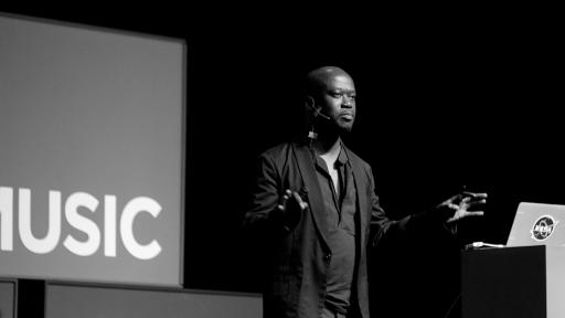 David Adjaye at Design Indaba Conference 2013.