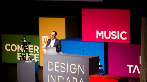 Christoph Niemann at Design Indaba Conference 2013