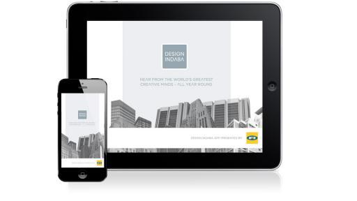 Design Indaba video app now