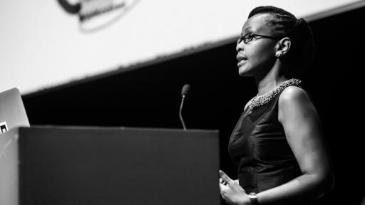Juliana Rotich at Design Indaba Conference 2014.