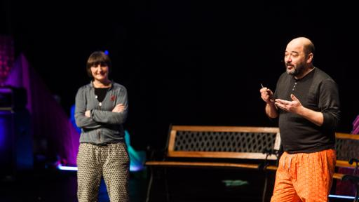 Roberto Feo and Rosario Hurtado of El Ultimo Grito at Design Indaba Conference 2014. Image: Jonx Pillemer.