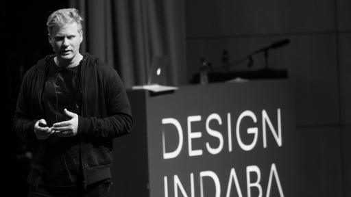 Dean Poole at Design Indaba Conference 2014.