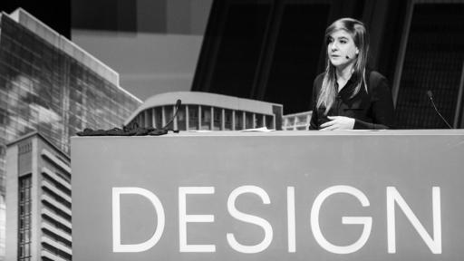 Teshia Treuhaft at Design Indaba. Photo by Jonx Pillemer.