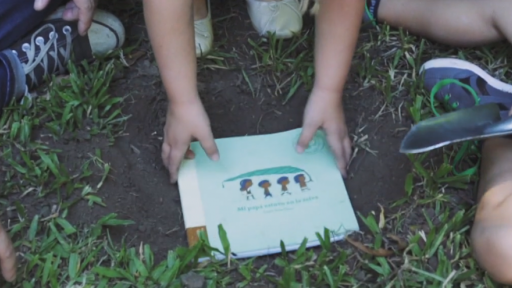 This book can be planted when you finish reading it and it will grow back into a tree.