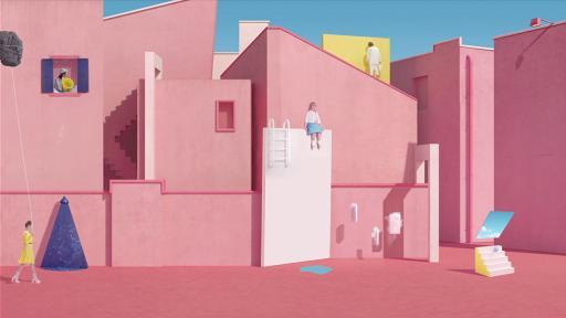 Vallée Duhamel make animations using lo-fi techniques