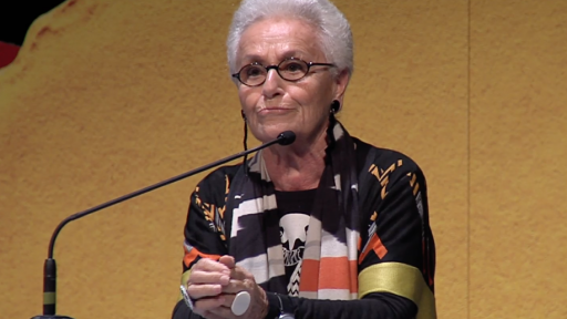 Rosita Missoni takes to the Design Indaba stage.