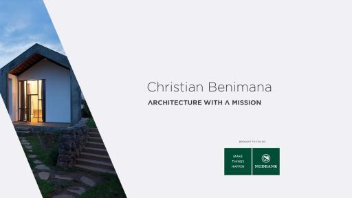 Africa.Now. Christian Benimana