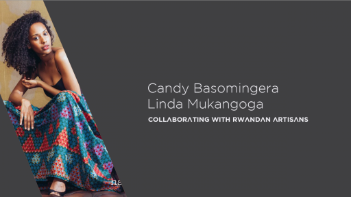 : Haute Baso, a boutique brand founded by Candy Basomingera and Linda Mukangoga is committed to collaboration with Rwandan artisans.
