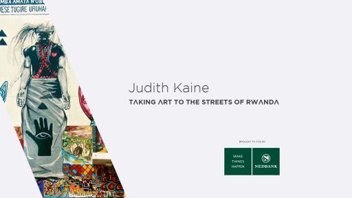 Judith Kaine: Taking art to the streets of Rwanda