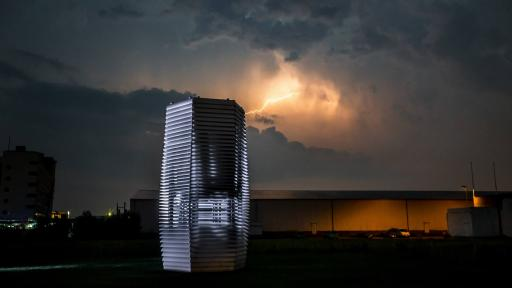 The world's largest air purifier is touring the smoggy cities of China