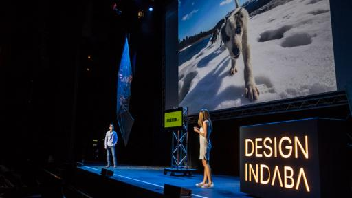 Chanel Cartell and Stevo Dirnberger from How Far From Home at Design Indaba Conference 2016