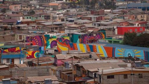 Boa Mistura create murals that inspire change