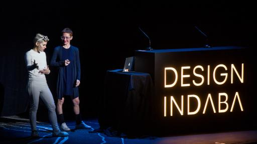 Giorgia Lupi, Kaki King at the Design Indaba Conference 2017
