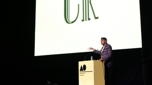 Chip Kidd at AGI Open 2011