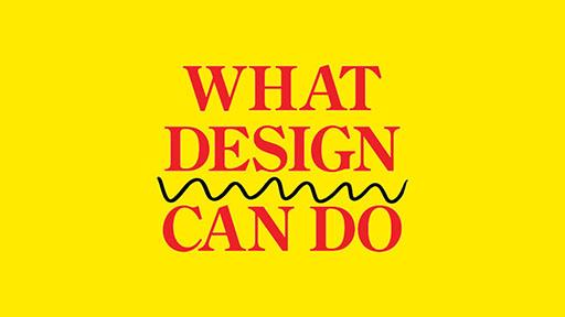 What Design Can Do 2016