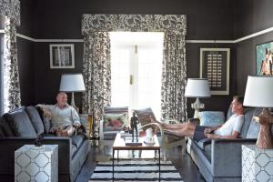 Owners of Mila. Image courtest of ELLE Decoration South Africa.
