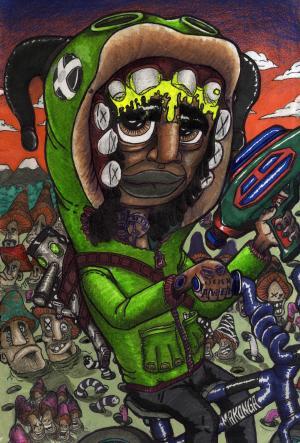 2014 Emerging Creatives: Kevin-Tumba Makonga.