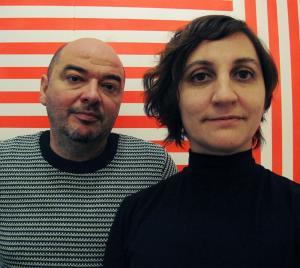 Roberto Feo and Rosario Hurtado of El Ultimo Grito.