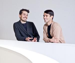 Simone Farresin and Andrea Trimarchi of Studio Formafantasma.