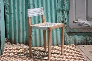 Back rest chair by Bonga Jwambi