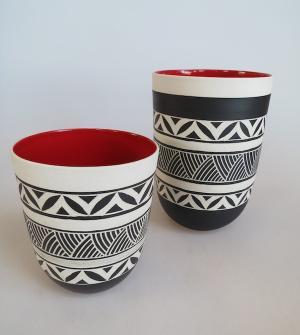 Ceramics by Linda Khuzwayo.