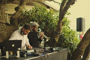 Valve State is the electronic live jazz combination duo made up by Richard Marshall and Lee Thompson.