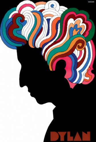 Bob Dylan poster. Courtesy of Milton Glaser.