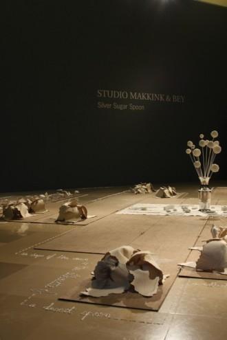 Silver Sugar Spoon exhibition at the Liechtentein Museum in Vienna. Courtesy of