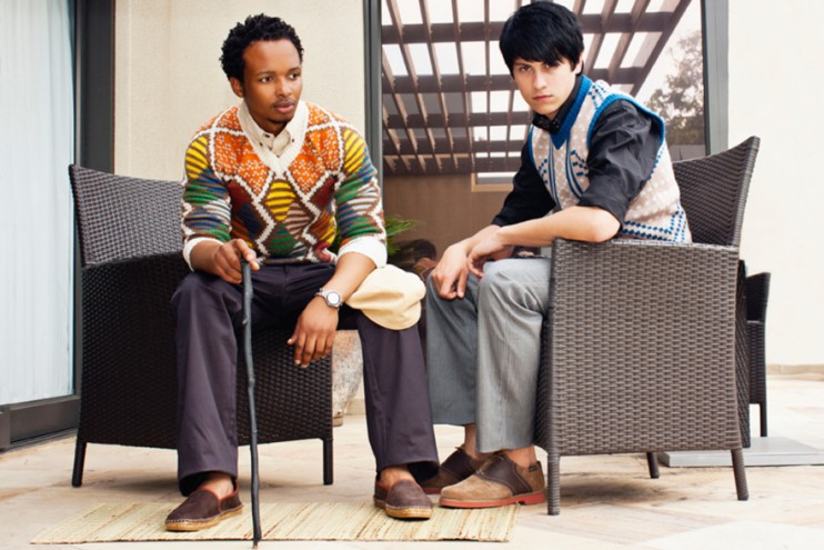 MBOISA 4: Mohair Jersey by Laduma Ngxokolo.