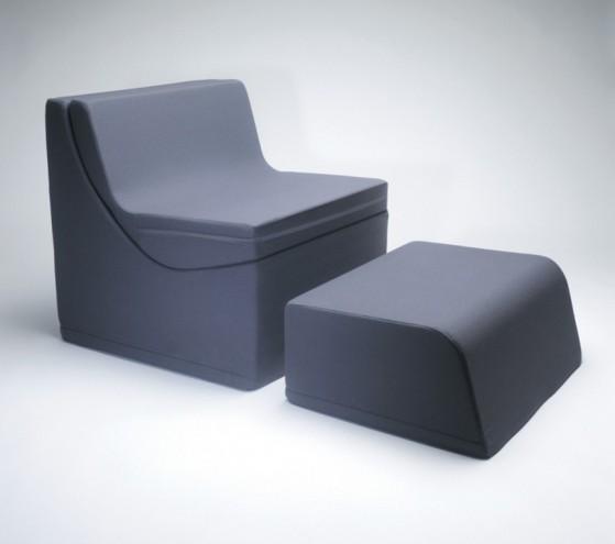 Q Chaise by Karim Rashid for Umbra