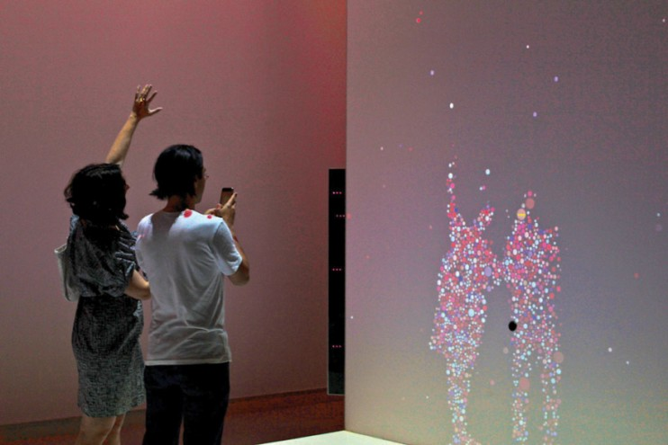 Interactive exhibits for the Who Am I? Gallery at the Science Museum.Courtesy of