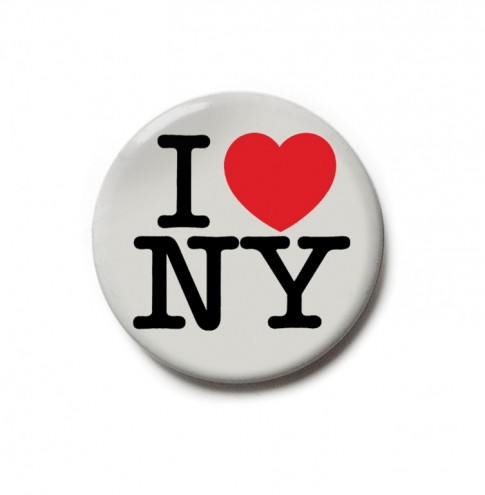 New York identity design. Courtesy of Milton Glaser.