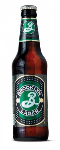 Brooklyn Lager packaging. Courtesy of Milton Glaser.