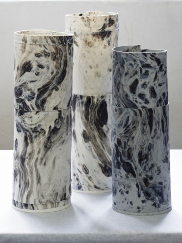 MBOISA 1: Marbled Vase by Lisa Firer.
