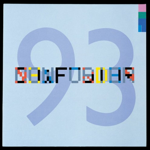 New Order – FAC 93 Confusion (1983). Record cover by Factory Records. Artwork by Peter Saville and Phill Pennington, Typography Brett Wickens.