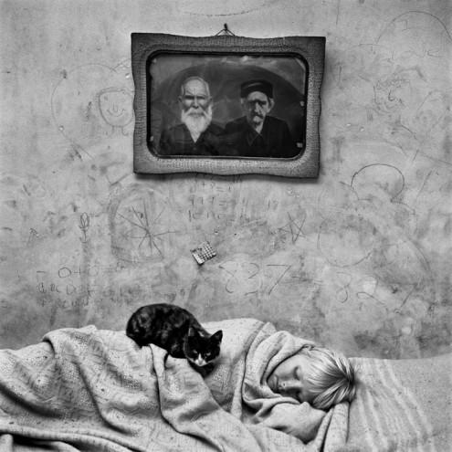 Portrait of Sleeping Girl, 2000. Courtesy of Roger Ballen.