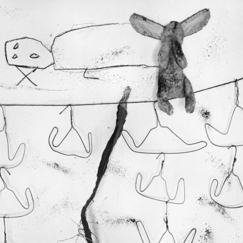 Washing Line, 2005. Courtesy of Roger Ballen.
