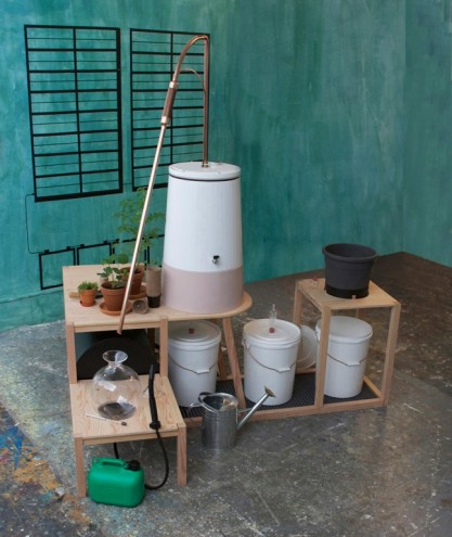 Domestic Compost Distiller by Lisa Johansson. RCA Campsite. © RCA.