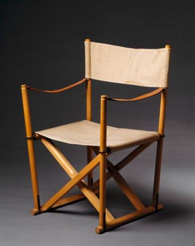 MK-foldestole/Chairs, 1932 by Mogens Koch. Photo: Design Museum Denmark.