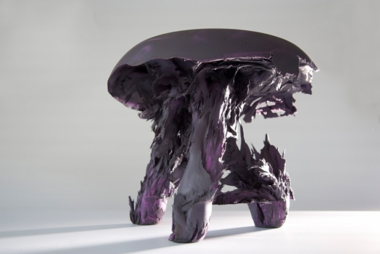 Gravity Stool by Jólan van der Wiel.