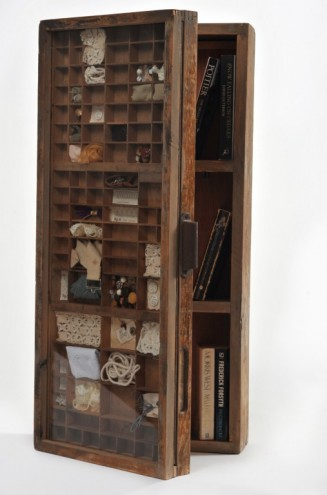 Printers Tray Cupboard by Recreate. Photo: Eric Miller.
