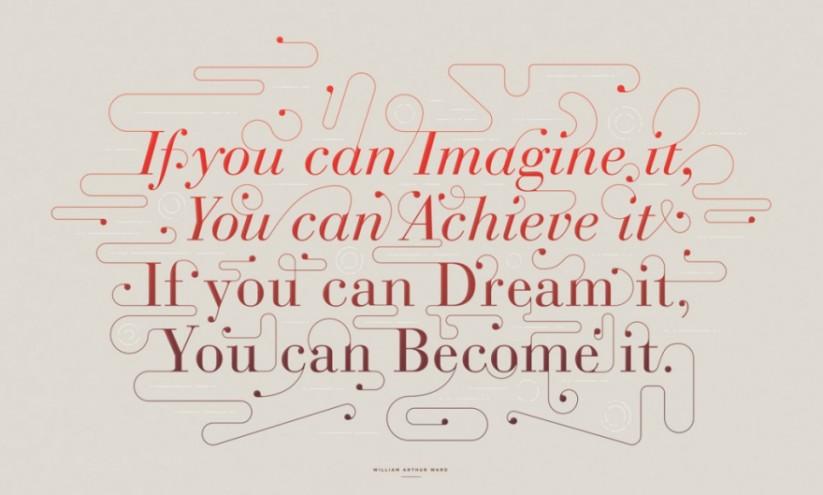 Imagine Type by Adam Hill.