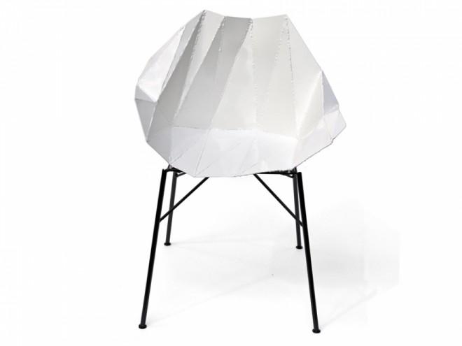 Folded Chair by Julian Mayor.