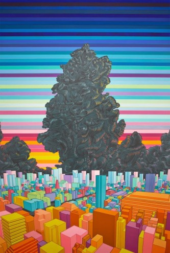 Cloud over Neo Tokyo, 2011. Lee Baker.